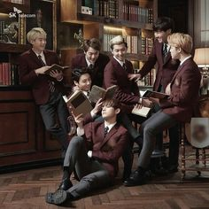 BTS for new SK telecom commercial