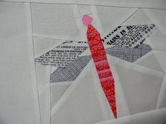 paper pieced dragonfly (july 13, 2011)