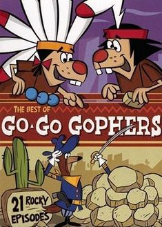 Go Go Gophers Watchem Go Go GO! Oh so many memories go with this wonderful cartoon! Classic Cartoon Characters, Favorite Cartoon Character, Classic Cartoons, Classic Comics, Cartoon Kunst, Cartoon Tv, Cartoon Shows, Cartoon Crazy, Time Cartoon
