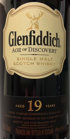 Glenfiddich 19yo Age of Discovery Madeira Finish 43%