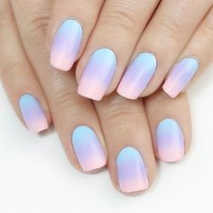 Wonderful Ombre Nail Designs for Your Inspiration ★ See more: https://naildesignsjournal.com/ombre-nail-designs-inspiration/ #nails