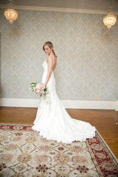 Such a #beautiful wedding gown! Photo by Ashley B.