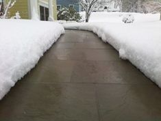 heated walkway