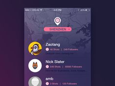 Dribbbler redesign by Zaotang