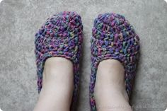 Crochet Slipper Pattern ☀CQ #crochet #apparel