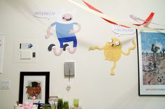 Decorations, Adventure Time-style by roboppy, via Flickr