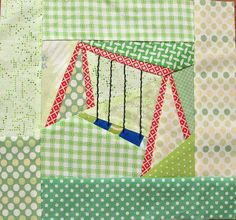 swingset block design by quirky granola girl