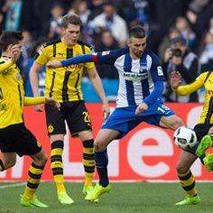 Bundesliga - Matchday 24 - Hertha BSC vs Borussia Dortmund