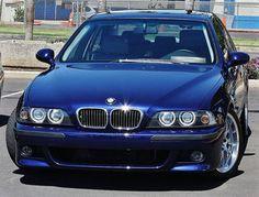 A beautiful BMW E39, Montreal Blue.