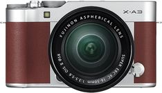 Shop Fujifilm X Series Mirrorless Camera with FUJINON XC OIS II Standard Zoom Lens Silver at Best Buy. Find low everyday prices and buy online for delivery or in-store pick-up. Fujifilm Xa3, Fujifilm Instax Mini, Kit, Cameras Nikon, Leica Camera, Nikon Dslr, Canon Lens, Camera Gear, Film Camera