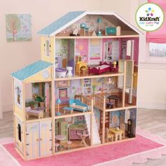KidKraft Majestic Mansion - Dukkehus Majestic Mansion 365252 Shop - Eurotoys - Leker online