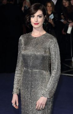 """Anne Hathaway war zur Filmpremiere von """"Interstellar"""" in London"""