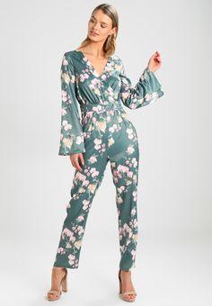 NA-KD HANNALICIOUS X - Jumpsuit - green orchid - Zalando.no