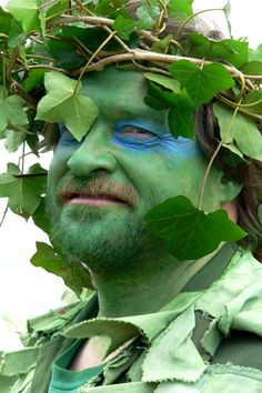 2010 Hastings Jack in the Green Green Magic, Happy May, May Days, Thing 1, Satyr, Beer Festival, Beltane, Man Images, Plant Growth