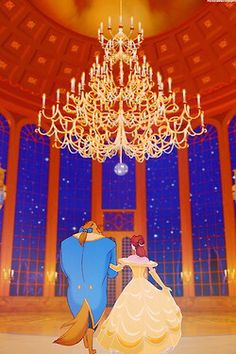 Beauty and the Beast iPhone wallpaper