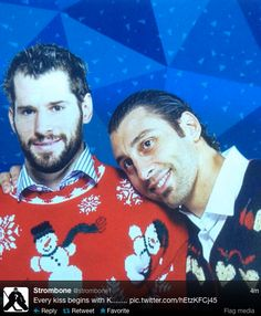 Ryan Kesler and Roberto Luongo 24 Reasons Why Hockey Players Are Actually Big, Cuddly Sweethearts Ryan Kesler, Panthers Hockey, Hockey Memes, Funny Hockey, Hockey Quotes, Florida Panthers, Anaheim Ducks, Vancouver Canucks, Humor