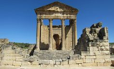 Inspiring Ancient Roman Towns In Today39s Tunisia Thugga Dougga with Archaeological Thugga Or Dougga | Goventures.org