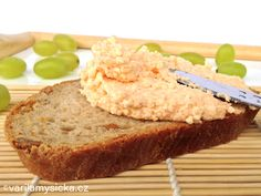 Jednoduché zdravé recepty pro děti a dospělé Snack Recipes, Cooking Recipes, Healthy Recipes, Sandwich Fillings, Czech Recipes, Party Snacks, Healthy Cooking, Kids Meals, Banana Bread