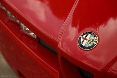 Up Close And Personal With A Most Dramatic Alfa Romeo Alfa Romeo Logo, Italian Beauty, Volkswagen Logo, Cool Cars, Vehicles, Motorbikes, Car, Motorcycles, Motorcycle