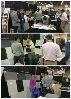 day 2we are in SURFACE show #quartzslab #countertop...