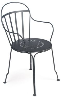 Fermob Bistro Louvre Stacking Armchair, Set of 2 – Bistro Furniture