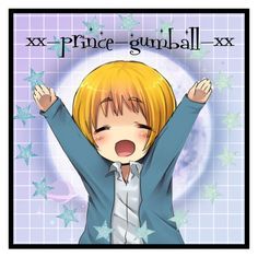 """""""Hugs!~ Armin icon for @xx-prince-gumball-xx"""" by xx-secret-xx ❤ liked on Polyvore featuring art"""