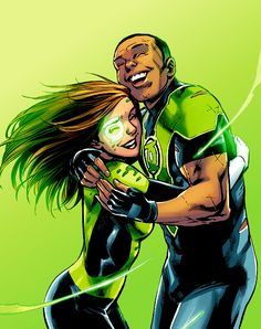 Jess and Simon in Green Lanterns #27