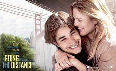 Going the Distance , starring Drew Barrymore, Justin Long, Ron Livingston, Charlie Day. A romantic comedy centered on a guy and a gal who try to keep their love alive as they shuttle back and forth between New York and San Francisco to see one another. Drew Barrymore, Charlie Day, Love Movie, Movie Tv, Movies Showing, Movies And Tv Shows, Im Crazy About You, Ron Livingston, Justin Long