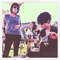 tegan and sara #newportfolk