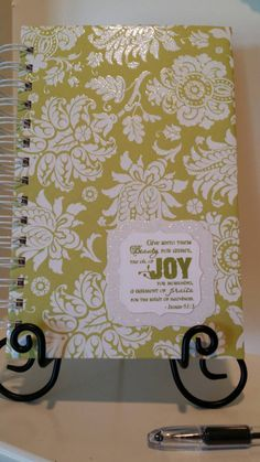Check out this item in my Etsy shop https://www.etsy.com/listing/241178246/isaiah-613-christian-prayer-journal