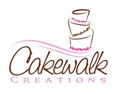 Cake logo design: Cakewalk Creations