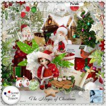 The Magic of Christmas Kit (PU) by Louise