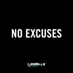 Lose the excuses, find the results.