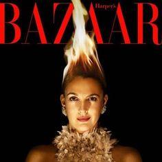 Drew Barrymore pega fogo: Vocês me incendiaram brincou a atriz