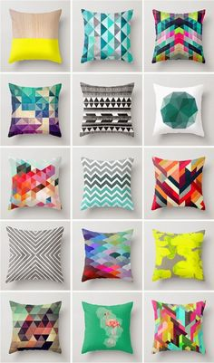 Throw Pillow Pattern Selection to Enhance Interior : Throw Pillow Pattern