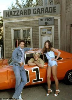 The Dukes of Hazzard with general lee