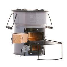 Some high-end rocket stoves - pretty nifty!