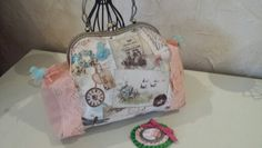 Bolso con boquilla estilo vintage Vintage metal frame bag Donde Nancy Collection