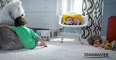 Our STAINMASTER® carpets deliver built in stain resistance at a price that's as pretty as the carpet.