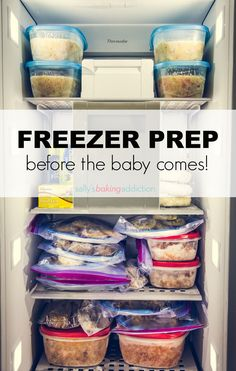 Freezer Meals & Snacks to Prep Before Baby