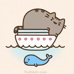 Image result for pusheen gifs