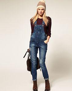 skinny overalls! :)