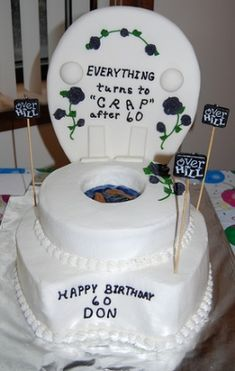 over the hill cakes - Google Search