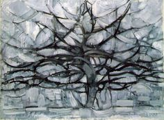 Piet Mondrian: Grey Tree