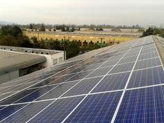 Comienza a funcionar la planta solar fotovoltaica sobre cubierta más grande de la Región Metropolitana  http://www.revistatecnicosmineros.com/noticias/comienza-funcionar-la-planta-solar-fotovoltaica-sobre-cubierta-mas-grande-de-la-region