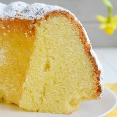 Babka z serkiem kremowym Vanilla Cake, Deserts, Projects, Food, Log Projects, Blue Prints, Essen, Postres, Meals