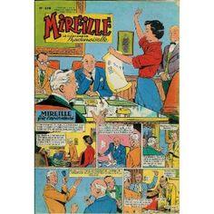 Mireille (n°258) du 14/01/1959 - Dessins de : Jean Sidobre (couv.) - Claude Verrier - Ernie Bushmiller - Jean-Louis Pesch - Angelo Di Marco - George Scarbo - Ham -... [Magazine mis en vente par Presse-Mémoire]