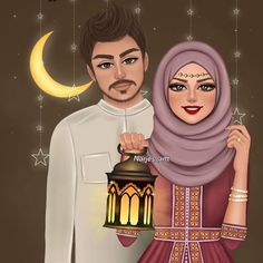 Muslim Couples, Art Drawings, Disney Characters, Fictional Characters, Instagram, Disney Princess, Anime, Movie Posters, Wallpapers