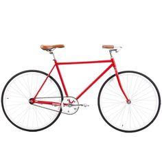retrospecbicycles.com - Siddhartha Urban Single-Speed Coaster Bike 45cm-xs / Red, Retrospec Bicycles - 4 Simple and Stylist.