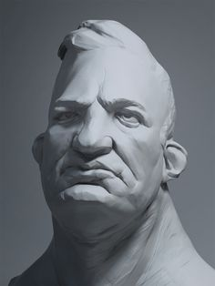 Brutus by Marro - digitally sculpted in Zbrush